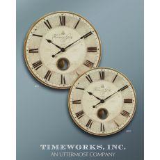 "Uttermost Harrison Gray 30"" Clock"