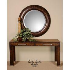Uttermost Leonzio Leather Mirror