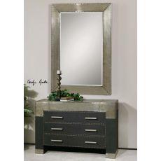 Uttermost Rashane Metal Mirror