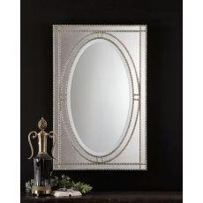 Uttermost Earnestine Antique Silver Mirror