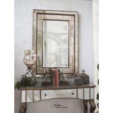 Uttermost Almont Bronze Mosaic Mirror