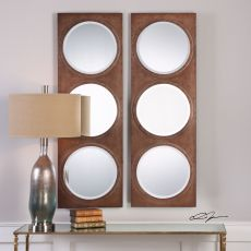 Uttermost Artelli Triple Round Mirror