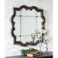 Uttermost Prisca Distressed Silver Mirror