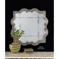 Uttermost Prisca Distressed Silver Mirror Small