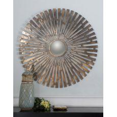 Uttermost Tremeca Brass Starburst Mirror