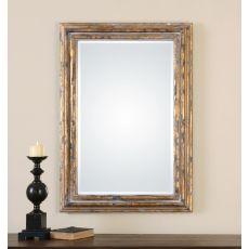 Uttermost Davagna Gold Leaf Mirror