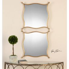 Uttermost Sibley Gold Mirrors, S/2