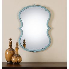 Uttermost Nicola Light Blue Mirror
