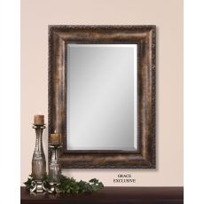 Uttermost Leola Antique Bronze Mirror
