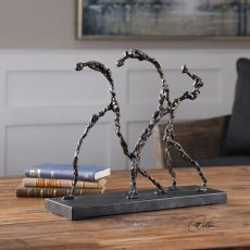 Uttermost Movement Iron Sculpture