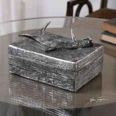 Rustic Antler Box