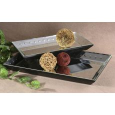 Uttermost Alanna Mirrored Decorative Trays, Set/2