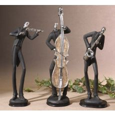 Uttermost Musicians Decorative Figurines, Set/3