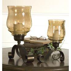 Uttermost Joselyn Bronze Candleholders Set/2