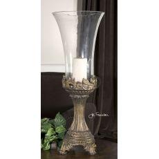 Uttermost Rococo Golden Hurricane Candleholder