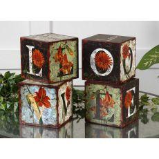 Uttermost Love Letters Decorative Boxes, Set/4
