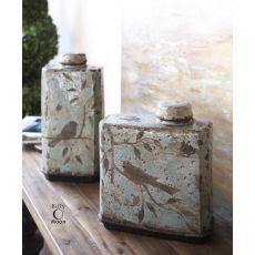 Uttermost Freya Light Sky Blue Containers, Set/2