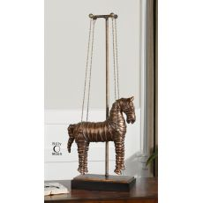 Uttermost Stedman Horse Copper Bronze Sculpture