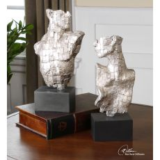 Uttermost Eros Silver Sculptures S/2