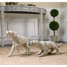 Uttermost Hudson And Penny Dog Sculptures, S/2