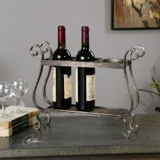 Uttermost Tiberio Rustic Wine Holder