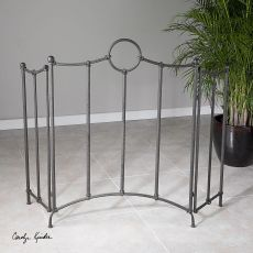 Uttermost Aditya Iron Fireplace Screen