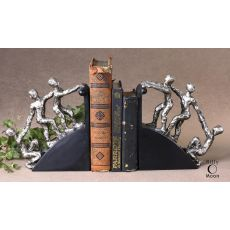 Uttermost Helping Hand Nickel Bookends, Set/2
