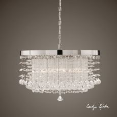 Uttermost Fascination 3 Light Crystal Chandelier
