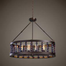 Uttermost Mandrino 4 Light Oval Chandelier