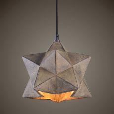 Uttermost Rocher 1 Light Geometric Pendant