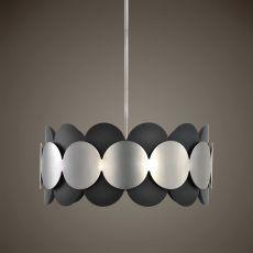 Zooey 3 Light Nickel Pendant