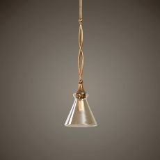 Glam 1 Light Gold Mini Pendant