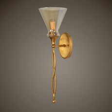Glam 1 Light Gold Sconce