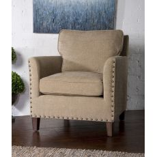 Uttermost Keturah Chenille Armchair
