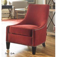 Uttermost Kina Armless Chair