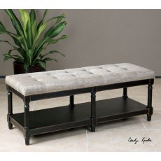 Uttermost Serafino Tufted Bench