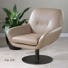 Uttermost Scotlyn Swivel Chair