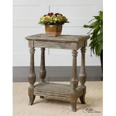 Uttermost Mardonio Distressed Side Table