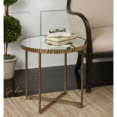 Uttermost Myeshia Round Accent Table