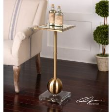 Uttermost Laton Mirrored Accent Table