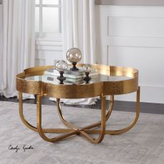 Cydney Gold Coffee Table