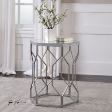 Stellan Iron Accent Table
