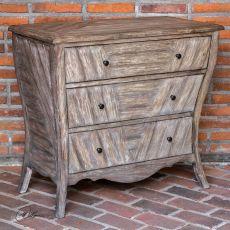 Uttermost Gimbya Wooden Three Drawer Chest