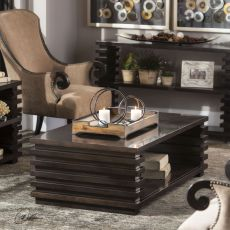 Uttermost Petris Stacked Leg Coffee Table