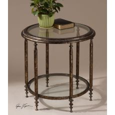 Uttermost Leilani Round Accent Table