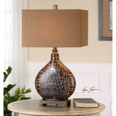 Uttermost Somali Dark Bronze Table Lamp