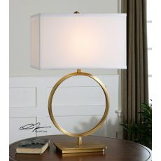 Uttermost Duara Circle Table Lamp