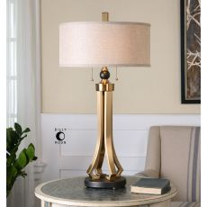 Uttermost Selvino Brushed Brass Table Lamp
