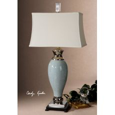 Uttermost Rossa Light Blue Table Lamp