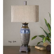 Uttermost Antonito Textured Ceramic Table Lamp